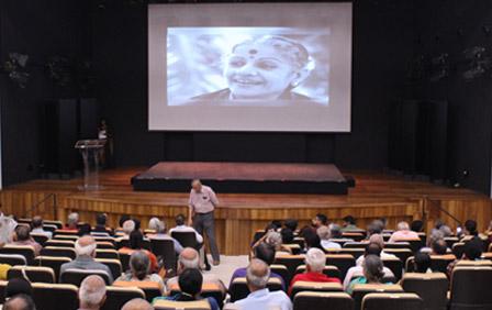 Inauguration of the M. S. Subbulakshmi Auditorium